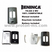 Remote Control 433.92MHz, Automatic door transmitter for BENINCA IO all color rolling code remote  BENINCA TO.GO 4 WV