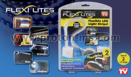 Flexible LED Light Strips 2x30cm