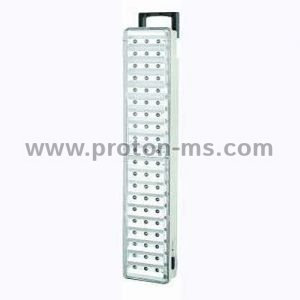 Rechargeable 60 LED Emergency Light with 60 LED diodes and remote control