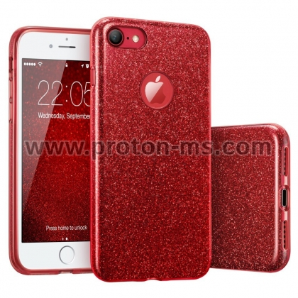 iPhone X Luxury Case, Red