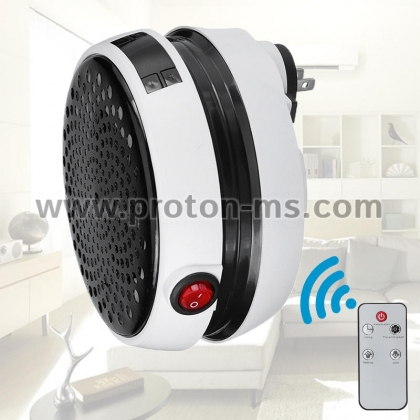 Warm Air Blower 1000W - The Wall-Outlet Portable Heater