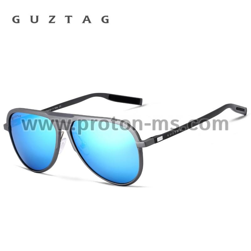 7a9c6baf9a Слънчеви Очила GUZTAG Unisex Classic Brand Men Aluminum Sunglasses HD  Polarized UV400 Mirror