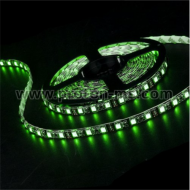 SMD 3528 LED Flexible Strip, green, 1m, 12VDC 4.8W/m 60 LEDs/M, non-waterproof