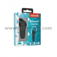 Bluetooth Headset MAXELL MXH-HS02, hands free, Black
