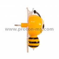Mini Night Lamp Bee with LED