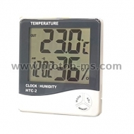 Digital Thermometer & Hygrometer HTC-2