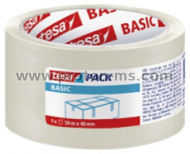 Basic Tesa Packaging Tape Transparent 50m x 48mm