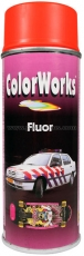 Color Works Fluor Spray Neon Orange