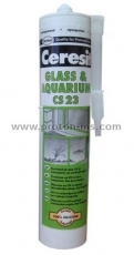 Ceresit CS23 Transparent Silicone for Glass, 300 ml. 12300