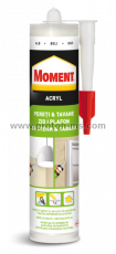 Acryl Sealant, White, 280 ml. Moment