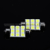 Diode bulb 9 SMD LED, white