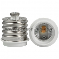 E40 to E27 Lamp Light Bulb Socket Base Adapter