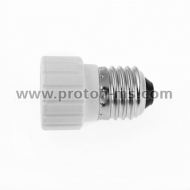 E27 to GU10 Lamp Light Bulb Socket Base Adapter
