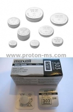 Silver Battery MAXELL 386 SR43SW