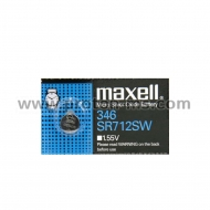 Button Battery Silver MAXELL SR-712 SW 1.55V / 346