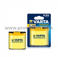 Батерия Superlife цинк 3R12 Varta 4.5V, 1 бр.