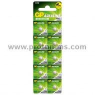 Button alkaline battery GP177 LR626 AG4 1.55V GP