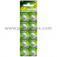 Button Alkaline Battery GP186 AG12 LR43 1.55V GP