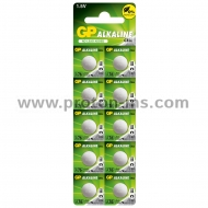 Button GPA76 alkaline battery LR44 1.55V GP