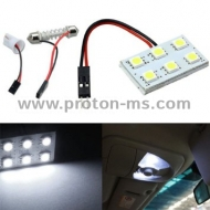 Diode Panel 2x3 SMD LED, white