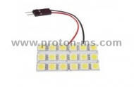 Diode Panel 3x6 SMD LED, white