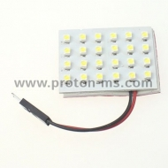 Diode Panel 4x6 SMD LED, white