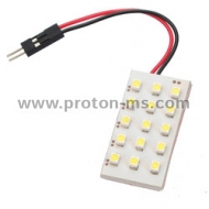 Diode panel 3x5 SMD LED, white