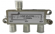 3-Way Solder Back Splitter 5-1000 MHz