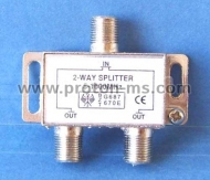 2-Way F-Type TV Antenna Aerial Splitter 5-900MHz