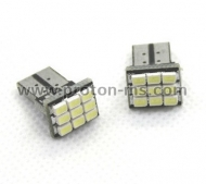 Diode gauges T10 with 9 SMD diodes (set of 2 pieces)