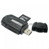 Universal 43-in-1 Card Reader, Black