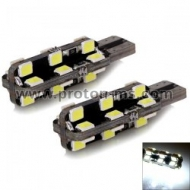 Diode gauges T10 with 24 SMD diode (set of 2 pcs)