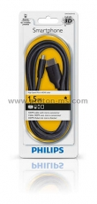 Philips High Speed HDMI/Micro USB Cable for Smartpones
