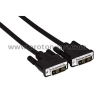 DVI-D to DVI-D Cable, 1.5m. HAMA