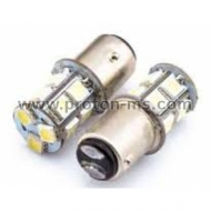 Diode bulbs with 13 diodes with white double light, Set of 2 pcs.
