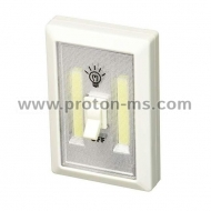 Multifunctional portable LED lamp with switch