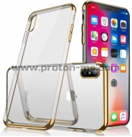 iPhone X Ultra Thin Soft Silicon, Gold