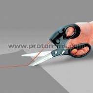 Laser Scissors - Cuts Straight Every Time!