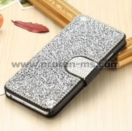 Luxury Bling Diamond Wallet Flip Leather Case For iPhone 7