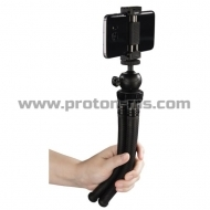 Hama FlexPro for Smartphone, GoPro and photo cameras black, 27cm