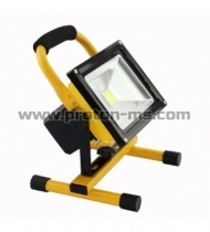 PowerLine LED Flood Light Rechargeable 10W 115 lm/W