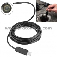 USB Camera – USB Android Endoscope, Ендоскоп Камера – Студоустойчив, Водоустойчив  5.5mm, USB кабел - 2 метра