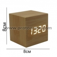 Luxury Digital Wooden Clock
