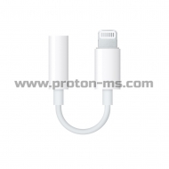 Apple Lightning to Headphone Jack Adapter, преходник от iPhone 5 6 7 Lightning към стерео жак 3.5 mm