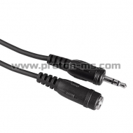 Audio Cable HAMA 122333, 3.5mm jack plug - 3.5mm jack plug, 90°, stereo, three-coloured, 3 Stars, 1.5m