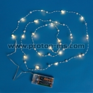 Battery Decarative Chain Lights, 2m
