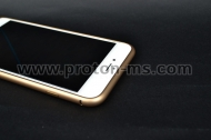 Muvit Aluminum Bumper for iPhone 6, Gold MUBKC0832
