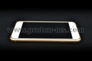 Muvit iPhone 6 Plus Contour which protects the phone, gold