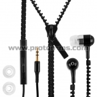 ZIPPER Earphones, blue