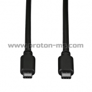 3.5mm to 3.5mm Audio Cable, 1m.